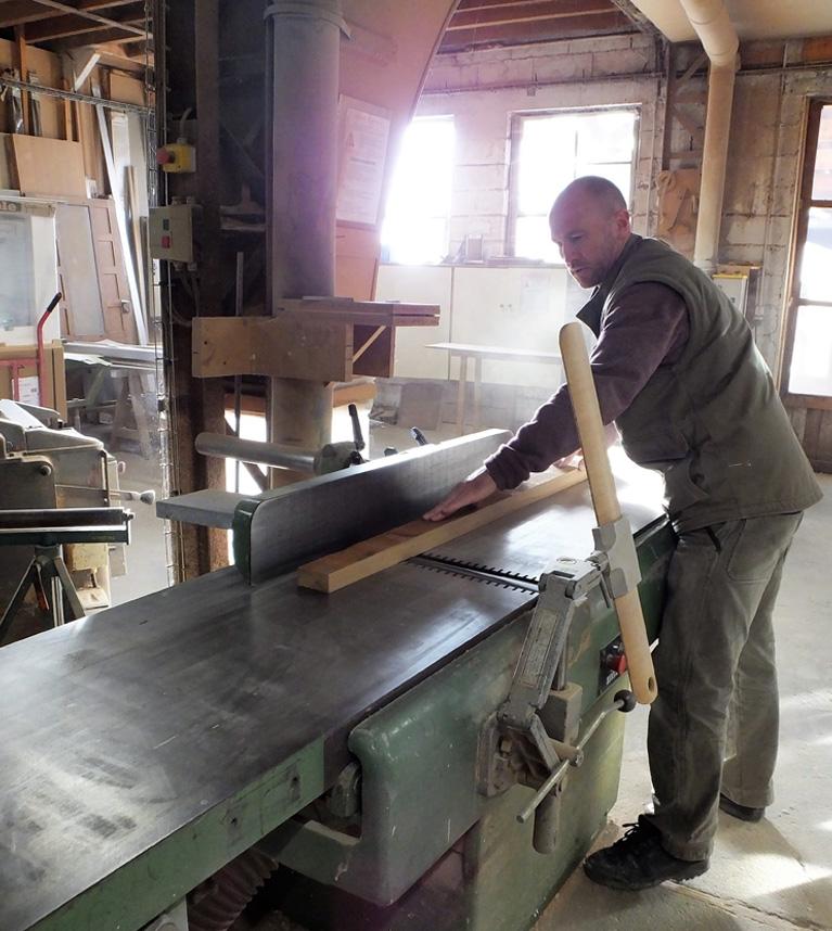 atelier fabrication menuiserie sur mesure bois près de Chartres (28)